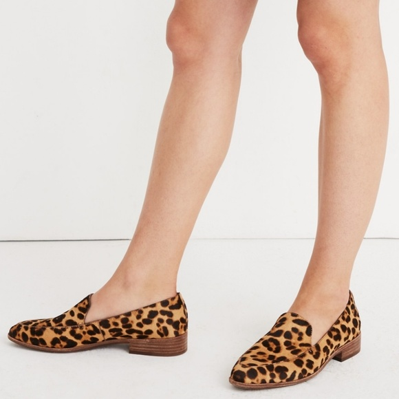 fdbd2ebaf9b Madewell Shoes - Madewell The Frances Loafer in Leopard Calf Hair